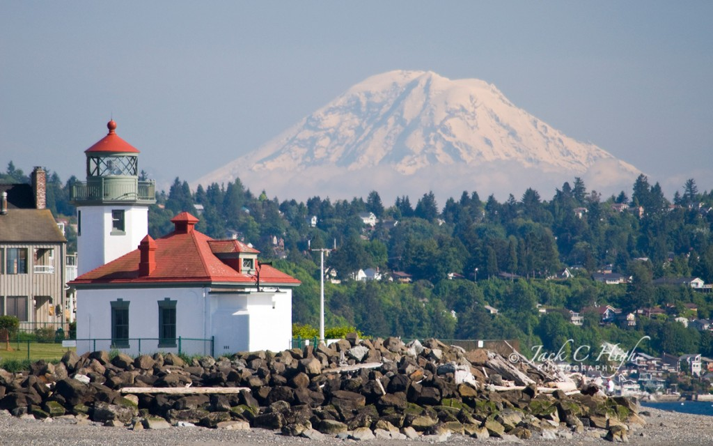 Alki Point Lighthouse, Seattle, WA