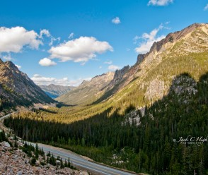North Cascades Highway at Hairpin Curve