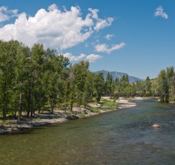 Methow River at Winthrop, Washington