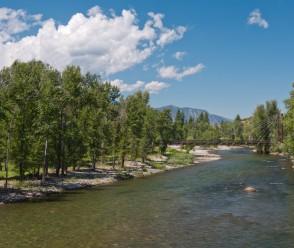 Methow River at Winthrop, Washington