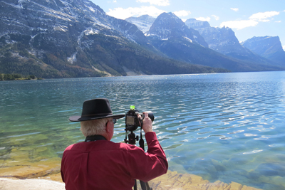 Jack at St. Mary Lake